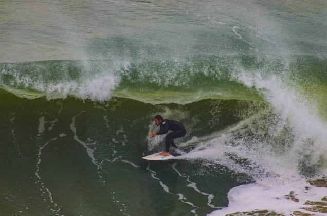 Gustavo Borges, Praia da Cal, Torres (RS). Foto: Rodolfo Martins.