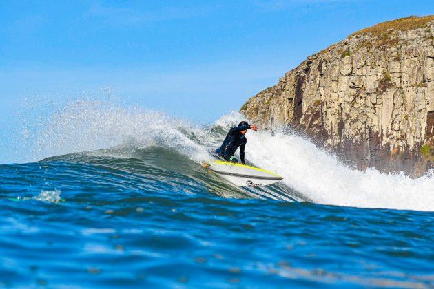 Iuri Silva, Praia da Cal, Torres (RS). Foto: Leandro Fuque.