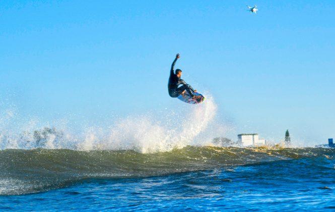 Michael Rodrigues, Praia da Cal, Torres (RS). Foto: Leandro Fuque.