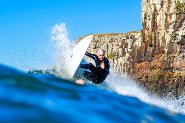Rodrigo Pedra Dornelles, Praia da Cal, Torres (RS). Foto: Leandro Fuque.