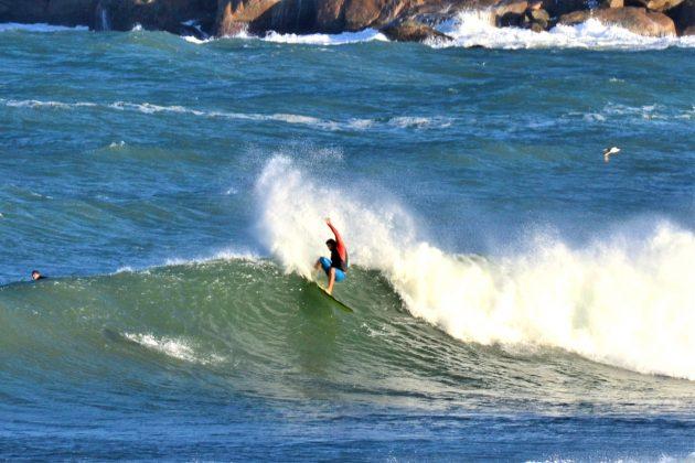 Zeca, Praia da Vila, Imbituba (SC). Foto: Henrique Buchele.