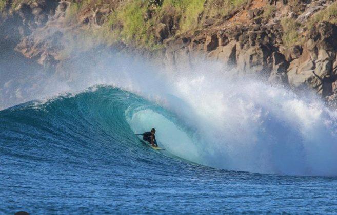 Keone Roitman, Honolua Bay, Maui, Havaí. Foto: Arquivo pessoal.