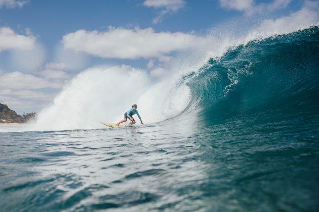 Keone Roitman, Pipeline, North Shore de Oahu, Havaí. Foto: Arquivo pessoal.