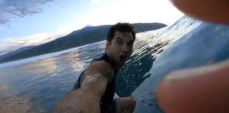 Tubarão persegue Top
