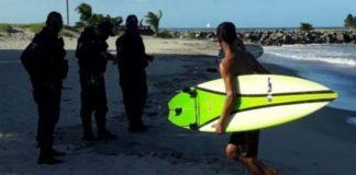 Operação retira surfistas