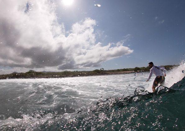 Barca do Fia, Galápagos. Foto: Arquivo pessoal.