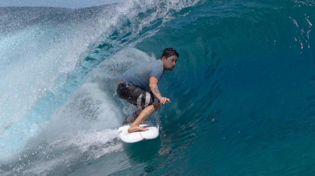 Daniel Cortez é um dos apresentadores do Surfcast.
