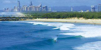 Sinal verde na Gold Coast