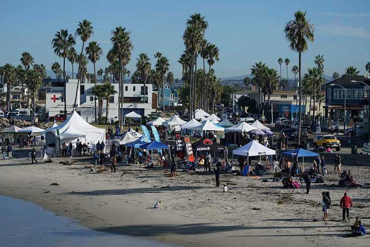 Evento inaugural da Bodyboarding US atrai atletas de oito países em San Diego.