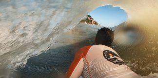 Bodyboarding no paraíso