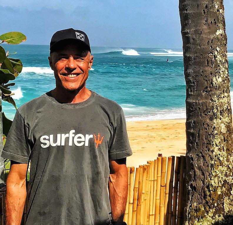 Ricardo Bocão é candidato à presidente da CBSurf pela chapa Nação Surfe Brasil.