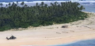 Resgate no Pacífico