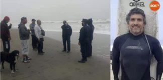 Surfista desaparece no Peru