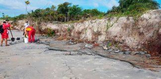 Mancha surge na Bahia