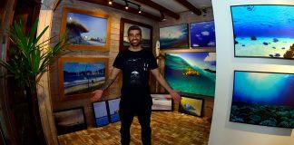 Alves expõe em Itajaí