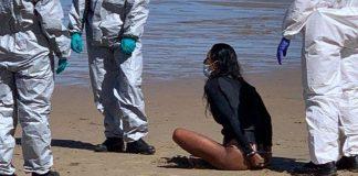 Polícia detém surfista