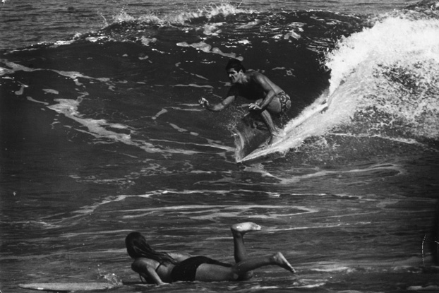 Irencyr Beltrão e Maria Helena, 1968, Arpoador.