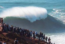 Surfe liberado em Nazaré