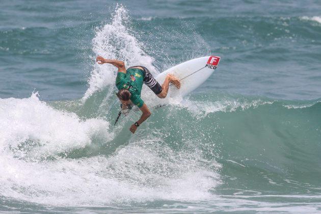 Caetano Vargas, CBSurf Pro Tour 2020, Praia Grande, Ubatuba (SP). Foto: Daniel Smorigo.