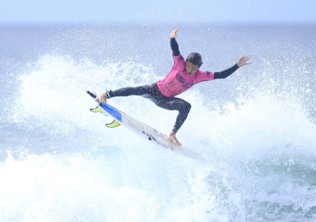 Gabriel Ogasahara é um dos talentos da nova geração de Florianópolis.