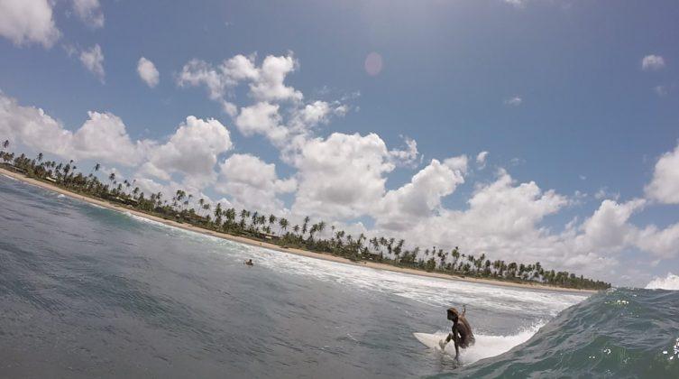 Ian, litoral norte baiano. Foto: Fabio Gouveia.