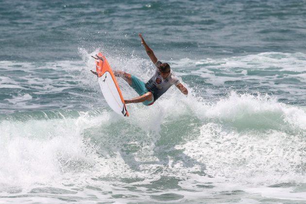 João Chianca, CBSurf Pro Tour 2020, Praia Grande, Ubatuba (SP). Foto: Daniel Smorigo.