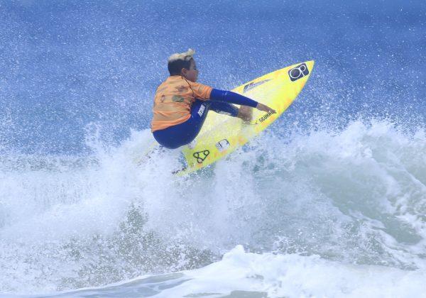 Michel Demetrio, Kids Like Surfing 2020, Joaquina, Florianópolis (SC). Foto: Basilio Ruy/P.P07.