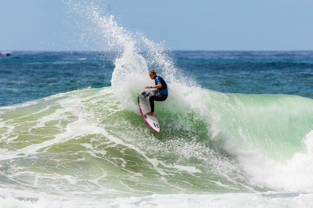 Isabella Nichols foi uma das vencedoras do Australian Grand Slam of Surfing.