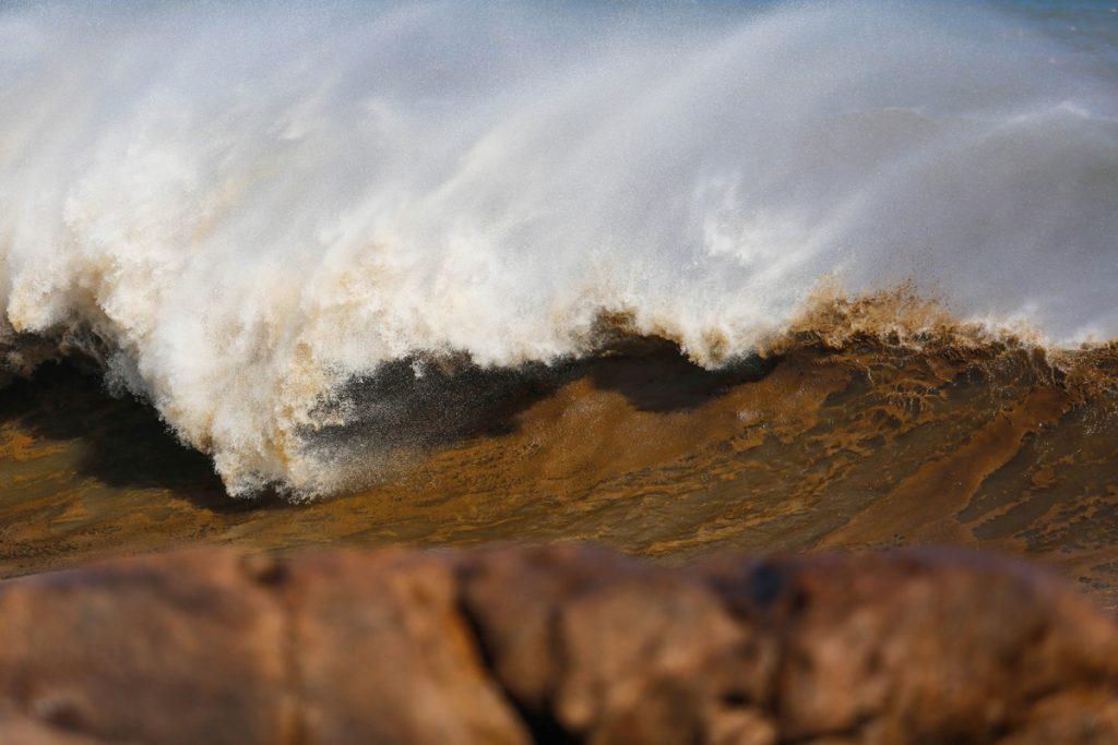 Condições devem ficar nervosas principalmente nafaixa litorânea  entre o Rio Grande do Sul e Laguna (SC).