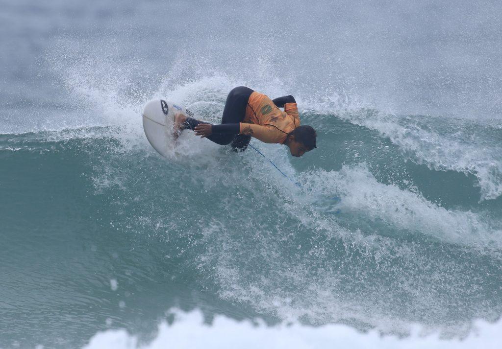 Yuri Gabriel é um dos talentos locais de Florianópolis.