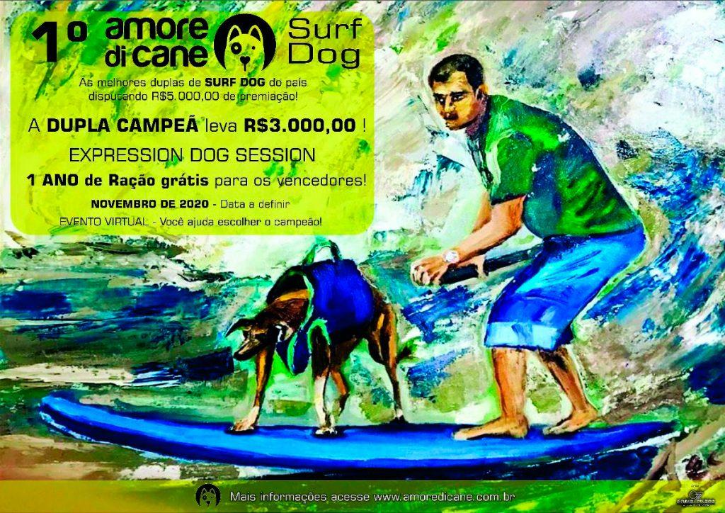 Cartaz do Amore Di Cane Surf Dog 2020.