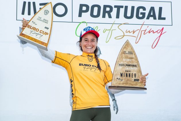 Johanne Defay, MEO Portugal Cup 2020, Ribeira d'Ilhas, Ericeira. Foto: WSL / Poullenot.