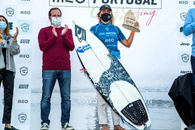 Nadia Erostarbe, MEO Portugal Cup 2020, Ribeira d'Ilhas, Ericeira. Foto: WSL / Poullenot.