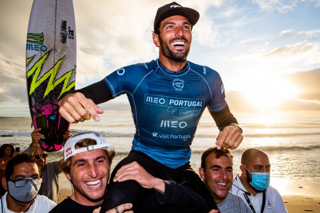 Frederico Morais, MEO Portugal Cup 2020, Ribeira d'Ilhas, Ericeira. Foto: WSL / Poullenot.