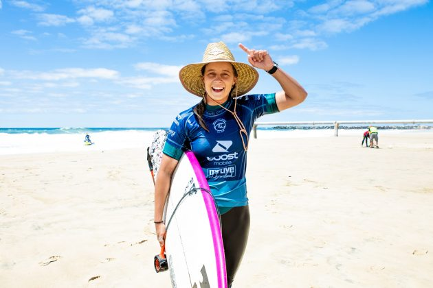 Isabella Nichols, Boost Mobile Pro 2020, South Straddie, Gold Coast, Austrália. Foto: WSL / Cestari.