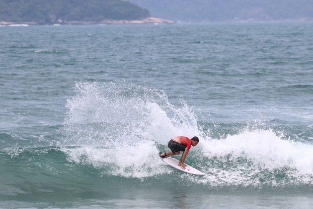 Tales Araujo, CBSurf Pro Tour 2020, Praia Grande, Ubatuba (SP). Foto: Daniel Smorigo.