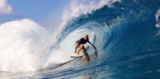 Tudo azul no Taiti