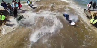Diversão nas valas