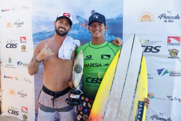 Alejo Muniz e Nayson Costa, CBSurf Pro Tour 2020, Taíba, São Gonçalo do Amarante (CE). Foto: Lima Jr.