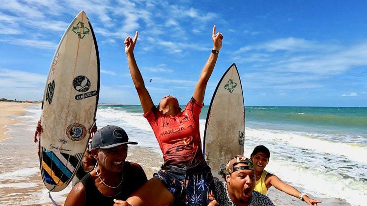 Ariane Gomes, CBSurf Pro Tour 2020, Taíba, São Gonçalo do Amarante (CE). Foto: Lima Jr.