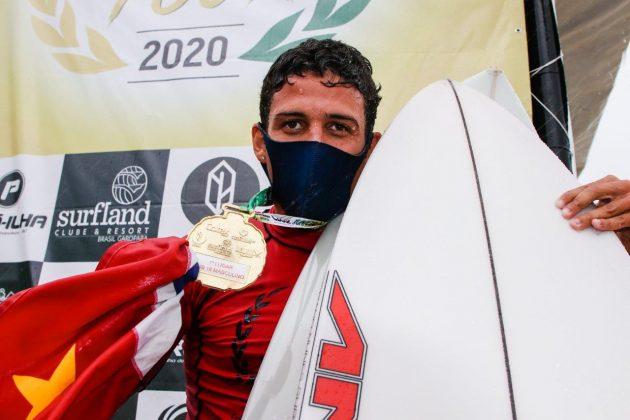 Caio Costa, CBSurf Júnior Tour 2020, Itamambuca, Ubatuba (SP). Foto: Daniel Smorigo.