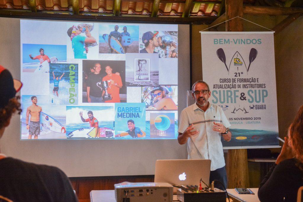 Fundador do SID (Surf Injury Data), Marcelo Baboghluian foi novamente um dos palestrantes. Foto arquivo: