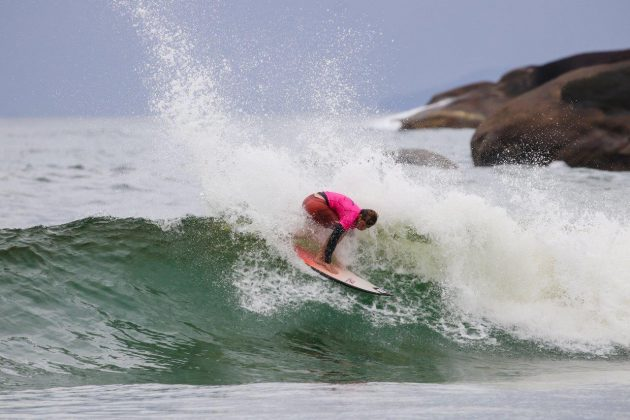 Leo Casal, Hang Loose Surf Attack 2020, Itamambuca, Ubatuba (SP). Foto: Daniel Smorigo.