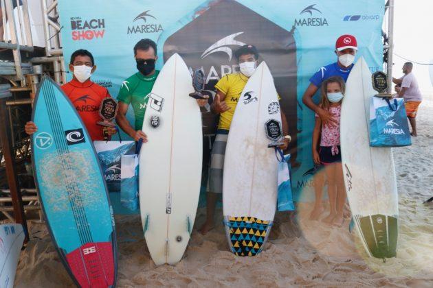 Pódio Master, Circuito Cearense 2020, Praia da Taíba (CE). Foto: Lima Jr.