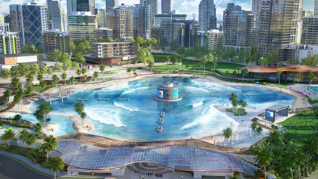 Capaz de gerar quase mil ondas por hora, a Surf Lakes australiana é uma das tecnologias estudadas por Turco Loco e poderia mudar completamente a cena do surfe na cidade de São Paulo.