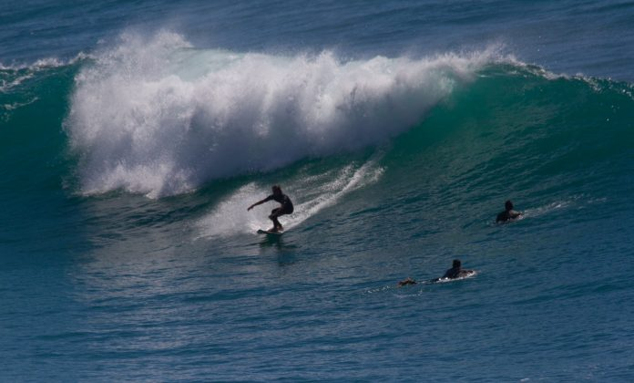 Lucas Magalhães, Praia do Rosa, Imbituba (SC). Foto: Victor Figueiredo / @surfphotography_sc.