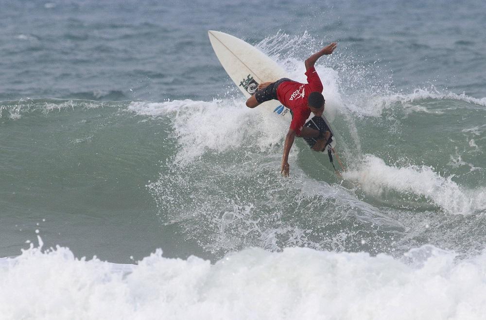 Ytalo Oliveira faz o maior somatório do dia.
