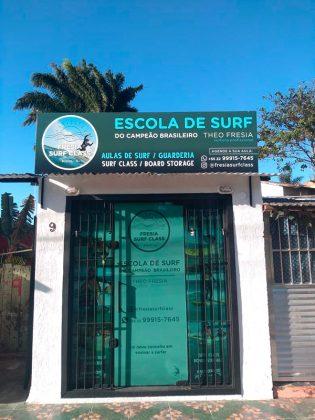 Fresia Surf Class, Geribá, Búzios (RJ). Foto: Divulgação.