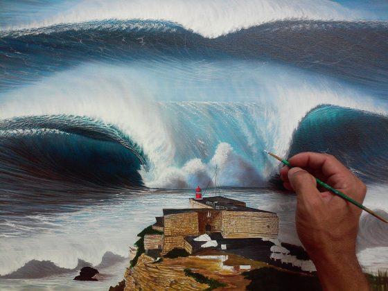 Arte de Hilton Alves. Foto: Reprodução.