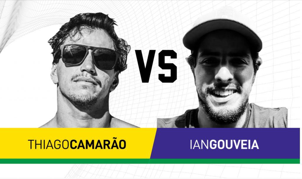 Thiago Camarão e Ian Gouveia duelam na grande final do Surf Web Series.